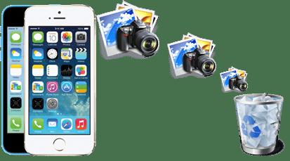 iPhone fotoğrafları silmek